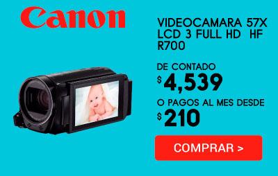 Videocámara Canon Hf R700
