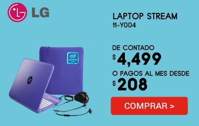 Laptop Hp Stream 11-Y004La con Accesorios Incluidos