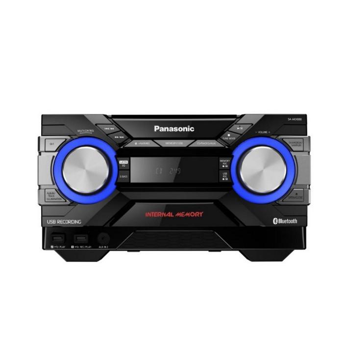 Minicomponente Panasonic Subwofer MAX Jukebox SC-AKX880
