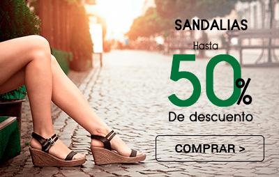Sandalias 50%