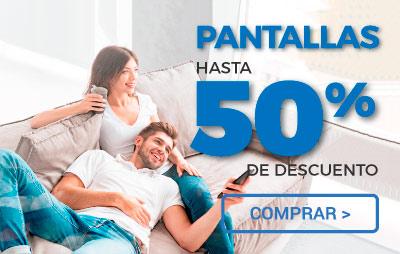 Pantallas 50%