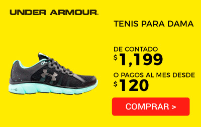 Zapato Running Under Armour - Dama