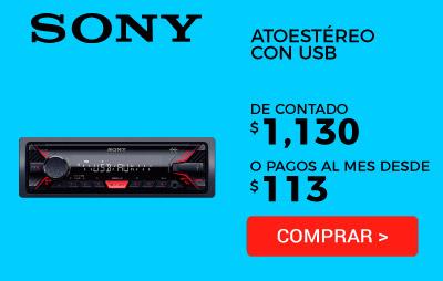 Autoestéreo con Usb Sony