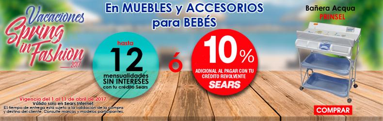 Muebles y Accesorios para Bebés | SEARS.COM.MX - Me entiende!