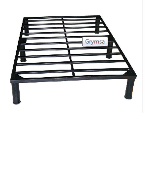 Base cama para colchon matrimonial tubular b2 for Colchon y cama matrimonial