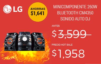 minicomponente lg 518907
