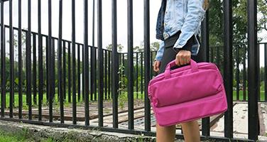 porta lap rosa