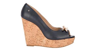 Zapato negro plataforma