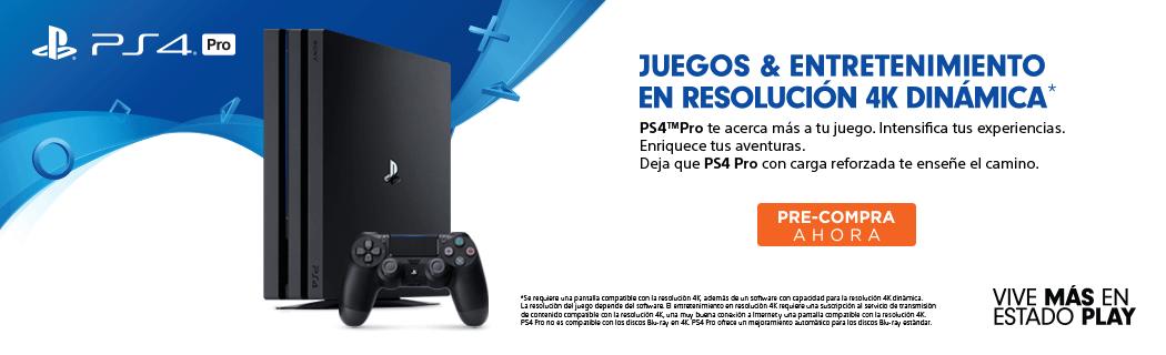 Preventa PS4 pro