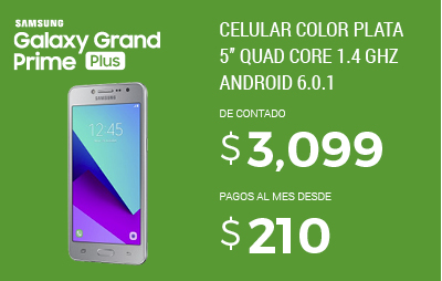 Galaxy Grand Prime Plus - Nueva vigencia
