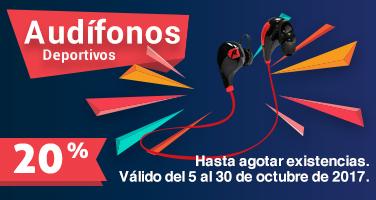 Audífonos 30 Octubre
