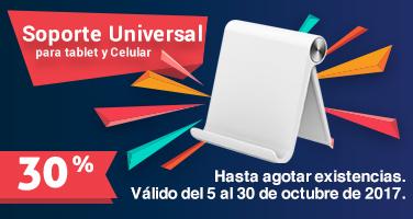 Soporte Tablet 30 Octubre