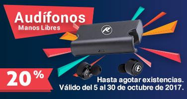 Audifonos manos libres 30 Octubre