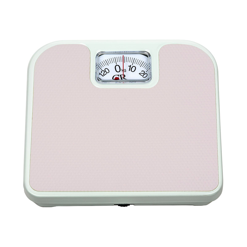 Bascula de Baño Cuadrada Analoga 130 Kg Rosa Personal